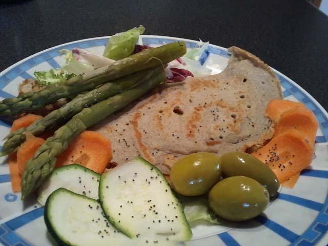 Fatevi una crêpes con tapioca per vegani e celiaci