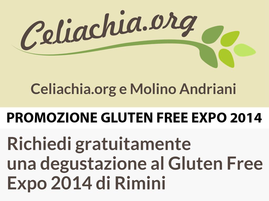 Promozione Gluten Free Expo 2014 di Rimini!!!