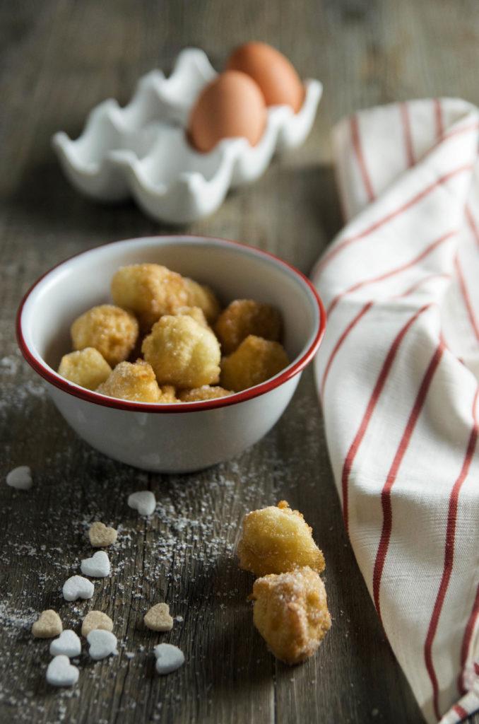 Bigné fritti senza glutine