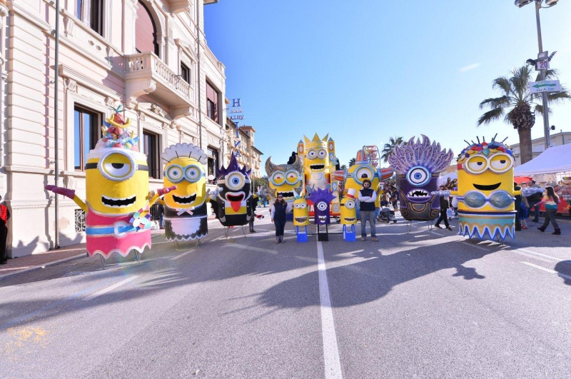 A Viareggio, Carnevale a misura di celiaci