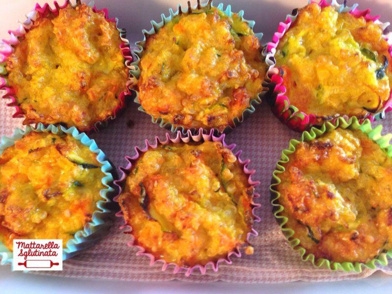 Mini muffin alla quinoa e verdure