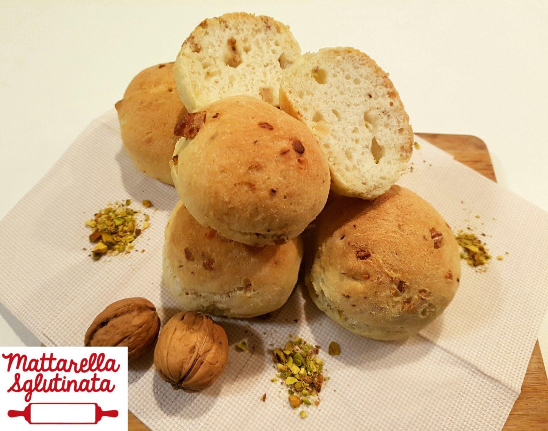 Panini noci e pistacchio