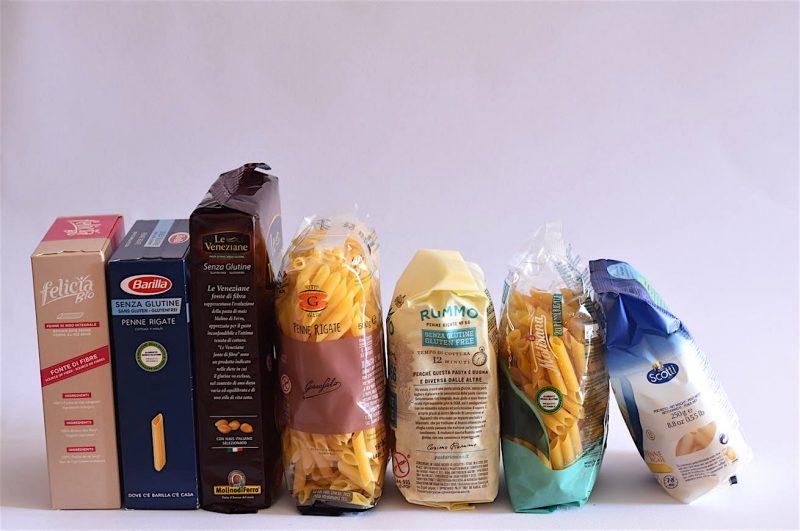 Pasta senza glutine: prova d'assaggio