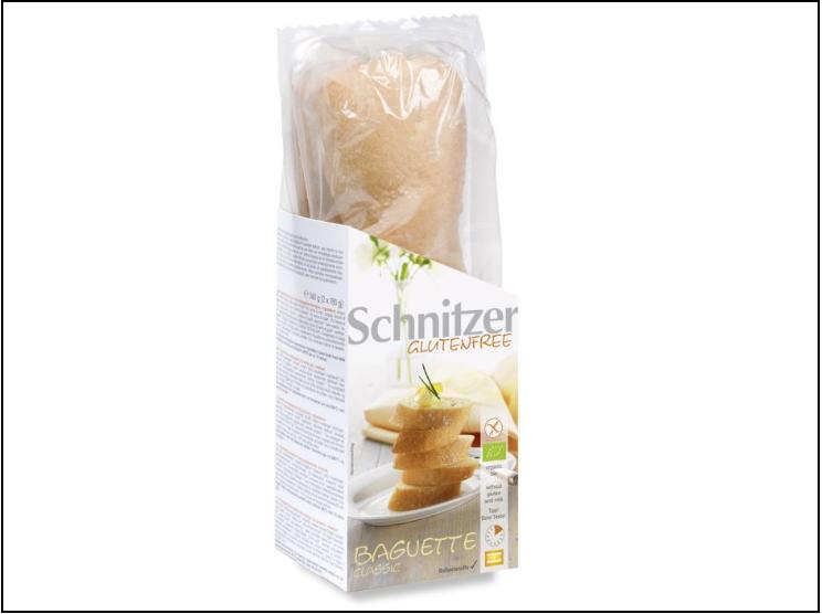 NaturaSì richiama un lotto di baguette classica senza glutine Schnitzer