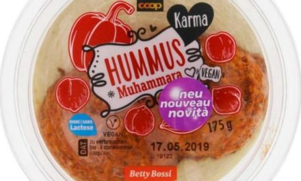 Coop richiama l'hummus Muhammara, contiene noci e glutine