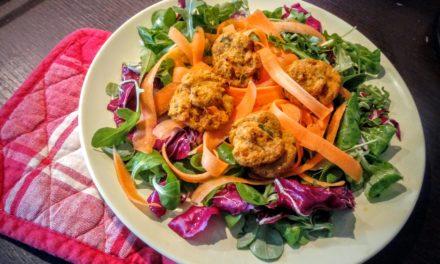Crocchette di quinoa alle carote e zucchine