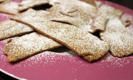 Biscotti di Carnevale al forno, da mangiare sempre, tranne che a Carnevale!