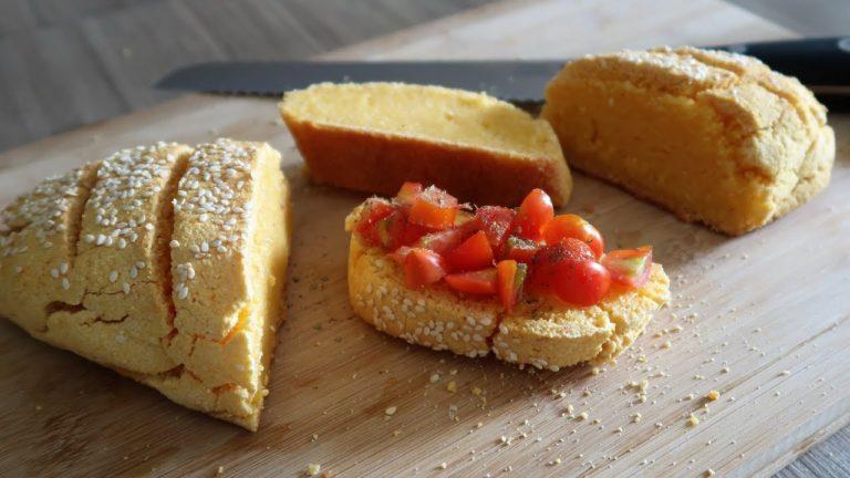 Pane senza glutine e senza lievito fatto in casa. Veloce e buonissimo!