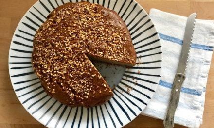 Torta di grano saraceno senza glutine