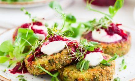 Hamburger di quinoa e verdure