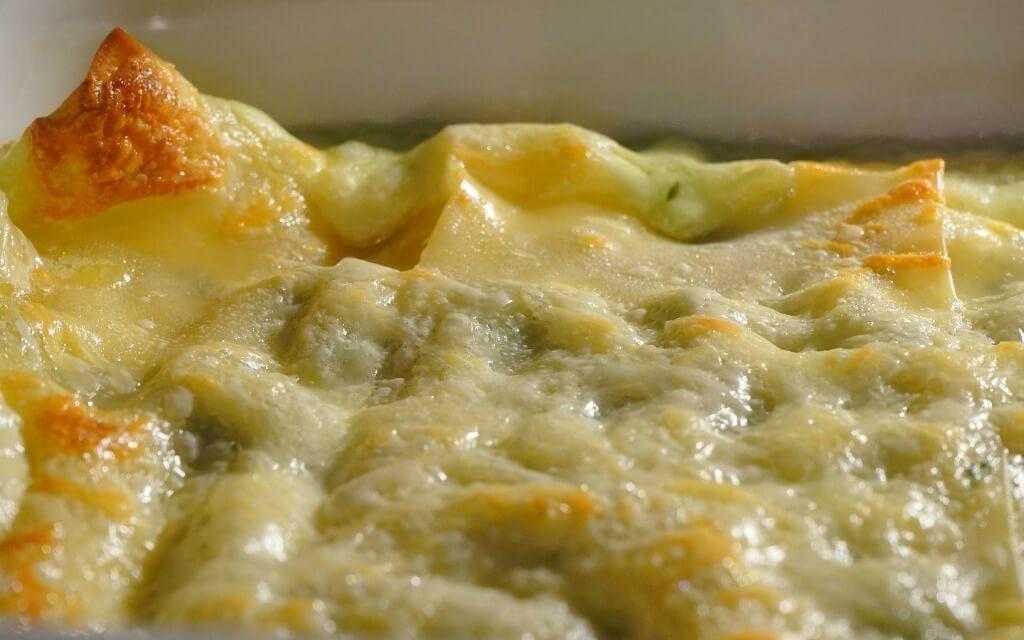 Lasagne ai carciofi senza glutine