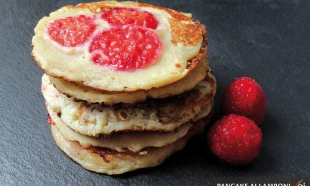 Prepariamo i deliziosi pancake ai lamponi. Ecco la ricetta