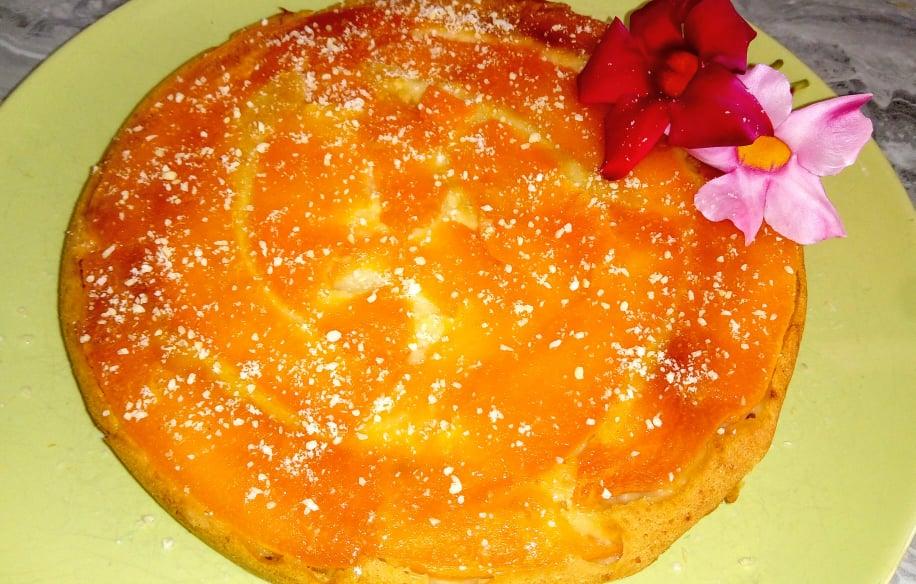 Tortina soffice al melone