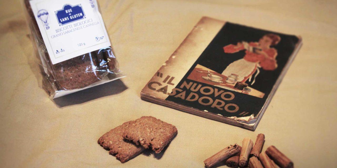 Biscotti grano saraceno e cannella Rue du Sans Gluten