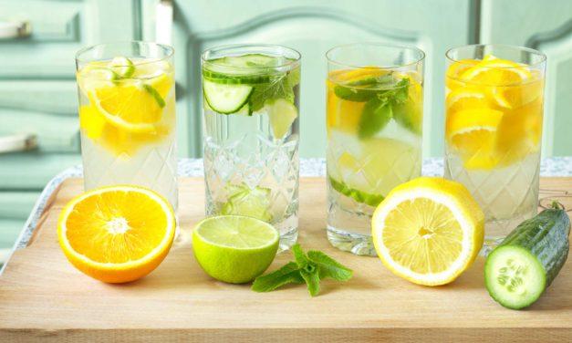 Idee da bere: le acque aromatizzate