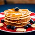 Pancake senza glutine con miele   Super soffici e super veloci