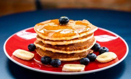 Pancake senza glutine con miele | Super soffici e super veloci