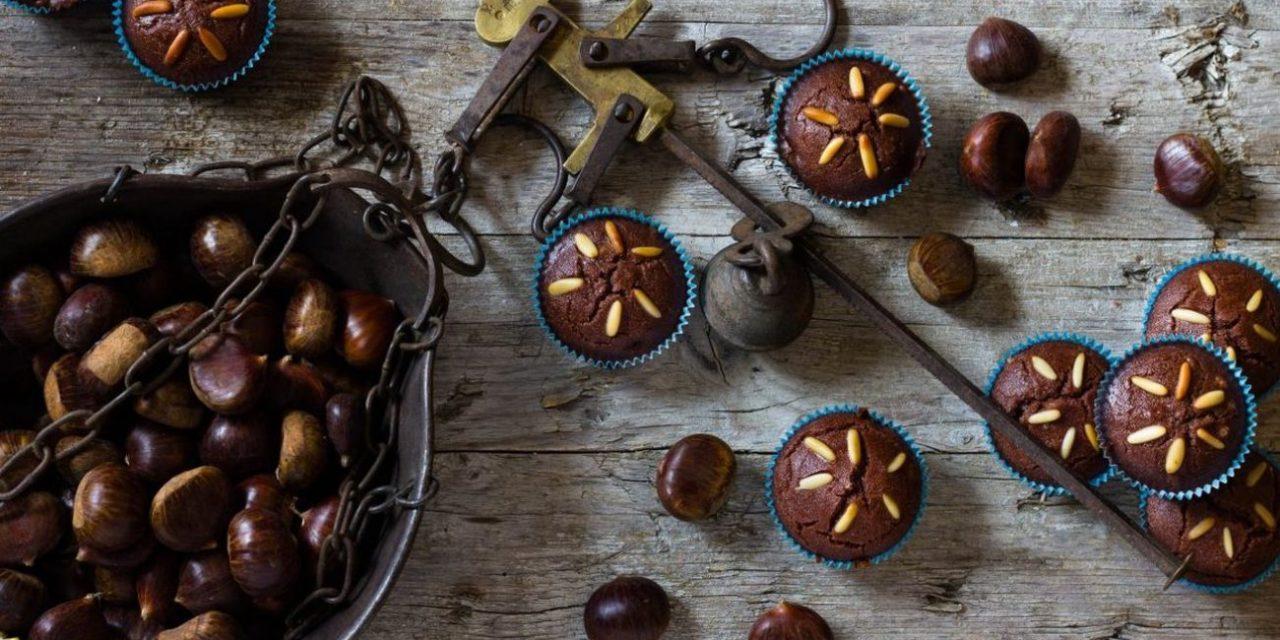 Muffin con farina di castagne, il dolce senza glutine adatto a tutti