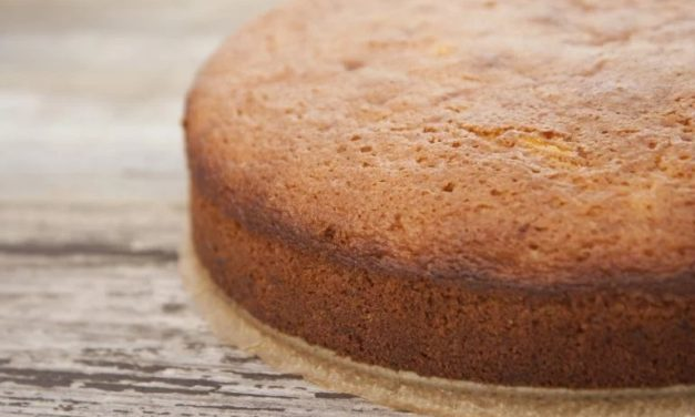 Pan di Spagna vegano, senza glutine e latte e 0 zuccheri