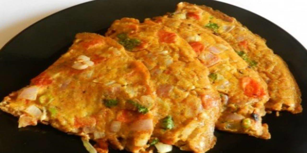 Frittata di miglio, zucchine e carote