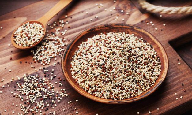 Quinoa, il superfood senza glutine che fa concorrenza alla carne
