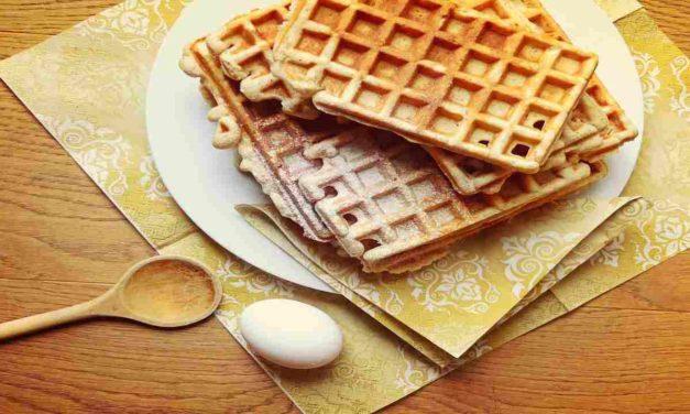 Waffles senza glutine, per una colazione golosa adatta a tutti