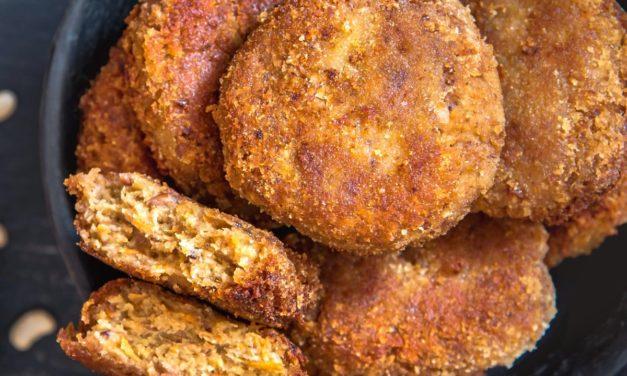 Cotolette di ceci vegane e senza glutine pronte in soli 5 minuti
